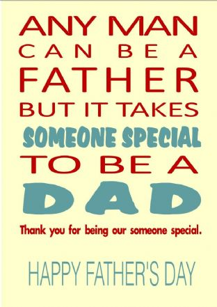 Father's Day Card Design 5